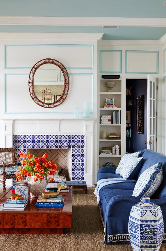 Blue And White Beach House Design Home Bunch Interior