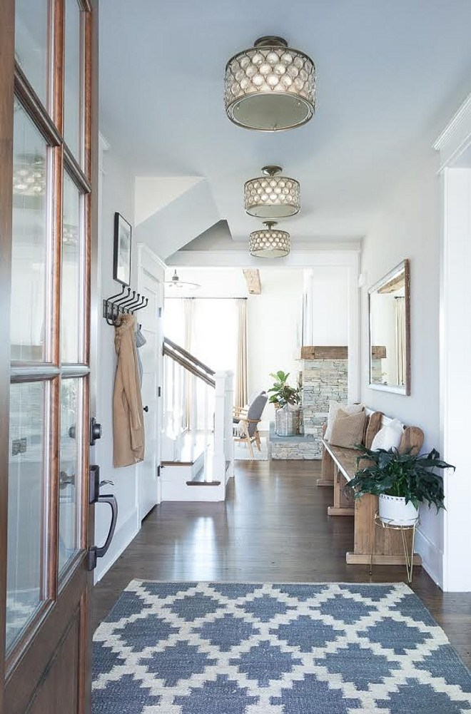 Sherwin Williams 7634 Pediment. Sherwin Williams 7634 Pediment. Neutral Whole floor paint color Sherwin Williams 7634 Pediment #SherwinWilliams7634Pediment Beautiful Homes of Instagram @greensprucedesigns