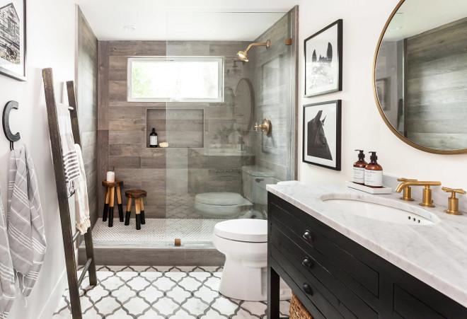 Interior Design Ideas - Home Bunch Interior Design Ideas on Rustic Farmhouse Bathroom Tile  id=13083