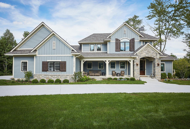 classic family home with paint colors home bunch on benjamin moore exterior paint colors id=84552