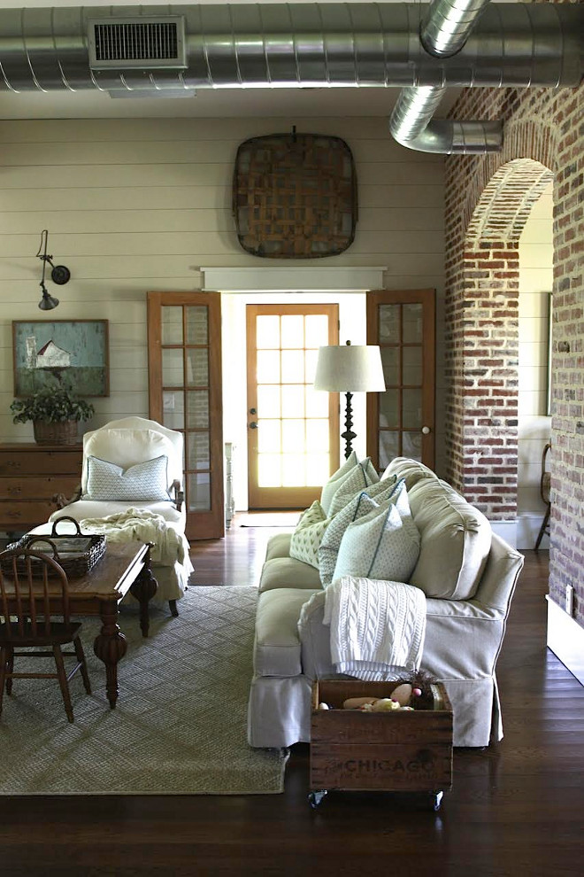 Farmhouse Living room. Farmhouse Living room Shiplap. Farmhouse Living room Brick walls. Farmhouse Living room. Farmhouse Living room #FarmhouseLivingroom Farmhouse Living room. Farmhouse Living room Shiplap. Farmhouse Living room Brick walls. Farmhouse Living room. Farmhouse Living room #FarmhouseLivingroom #FarmhouseLivingroom #FarmhouseLivingroomShiplap #Shiplap #Brick #brickwalls #FarmhouseLivingroom #Livingroom #FarmhouseLivingroom Home Bunch's Beautiful Homes of Instagram @blessedmommatobabygirls