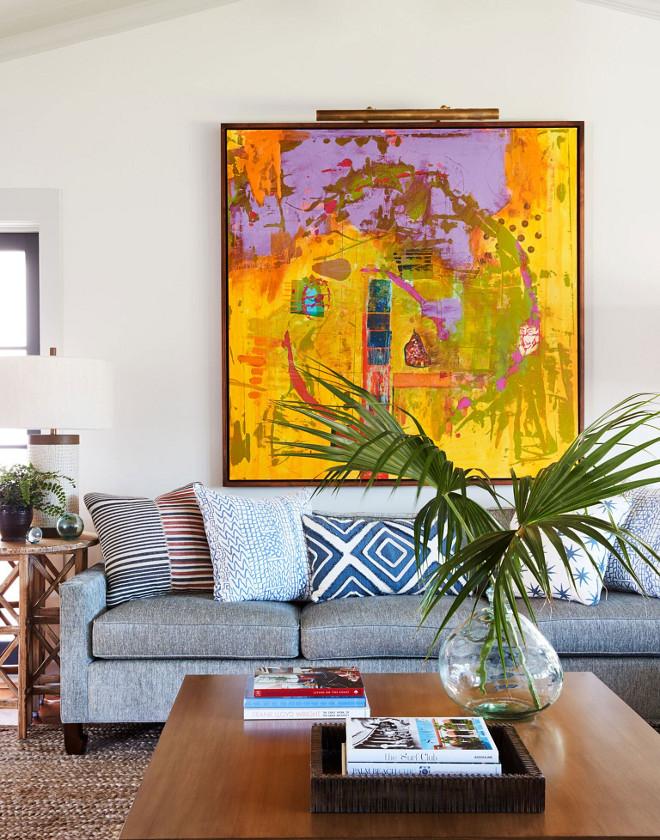 Living Room Art Ideas. Artwork is by Steve Williams. Living Room Art Ideas. Living Room Art Ideas. Living Room Art Ideas #LivingRoom #Art #livingroomIdeas Andrew Howard Interior Design