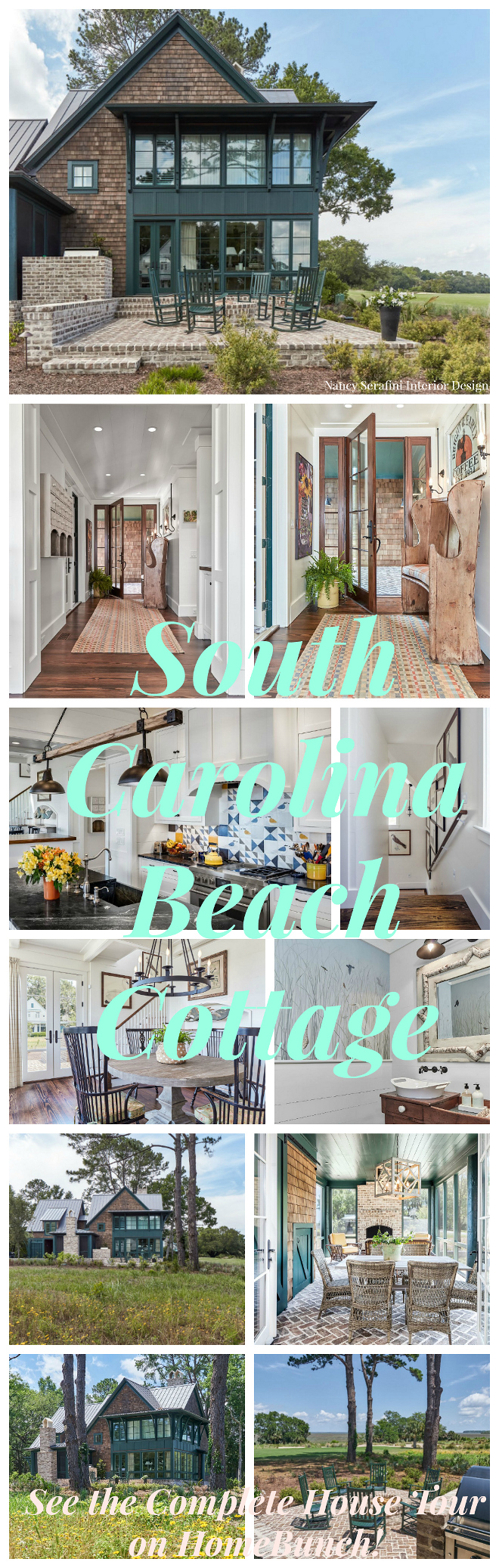 South Carolina Beach Cottage Design.