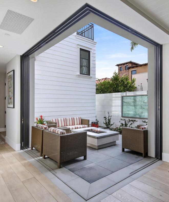 California Modern Farmhouse Style Beach House - Home Bunch ... on Farmhouse Outdoor Living Space id=83799