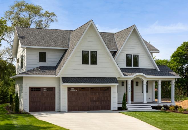 Koby Kepert: Open-Concept Family Home Design Ideas on Garage Door Color Ideas  id=50212