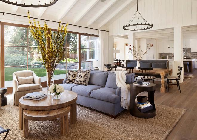 Open concept living room. Jennifer Robin Interiors