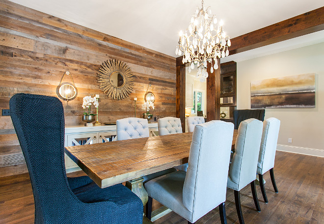 Dining room with reclaimed shiplap wall. Dining room with reclaimed shiplap wall. Dining room with reclaimed shiplap wall. Dining room with reclaimed shiplap wall. Dining room with reclaimed shiplap wall. Dining room with reclaimed shiplap wall #Diningroom #reclaimedshiplap Great Neighborhood Homes