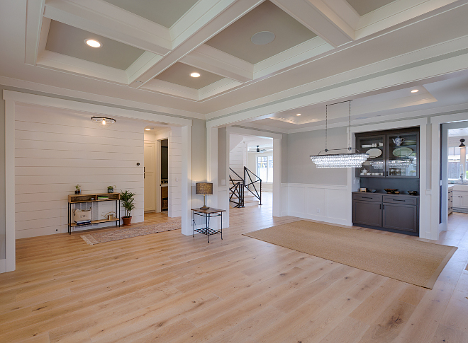 New Construction Layout Inspiration Formal living room opens to dining room, butlers pantry to kitchen. AK Construction