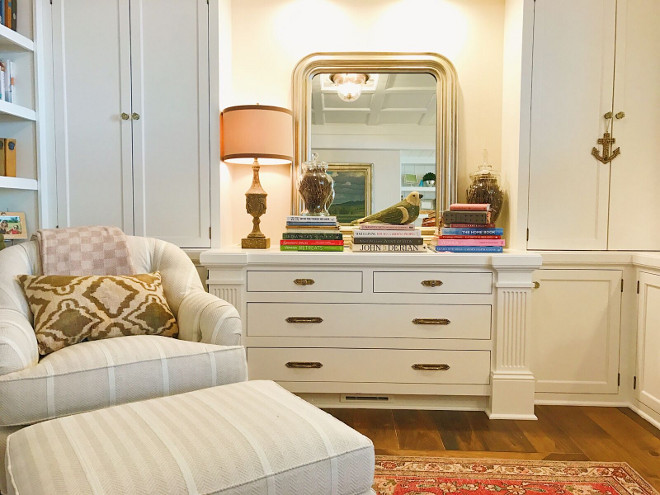 Home office built in dresser and cabinets. Home office built in dresser and cabinets. Home office built in dresser and cabinets. Home office built in dresser and cabinets. Home office built in dresser and cabinets #Homeoffice #builtindresser #builtincabinets Beautiful Homes of Instagram @SweetShadyLane