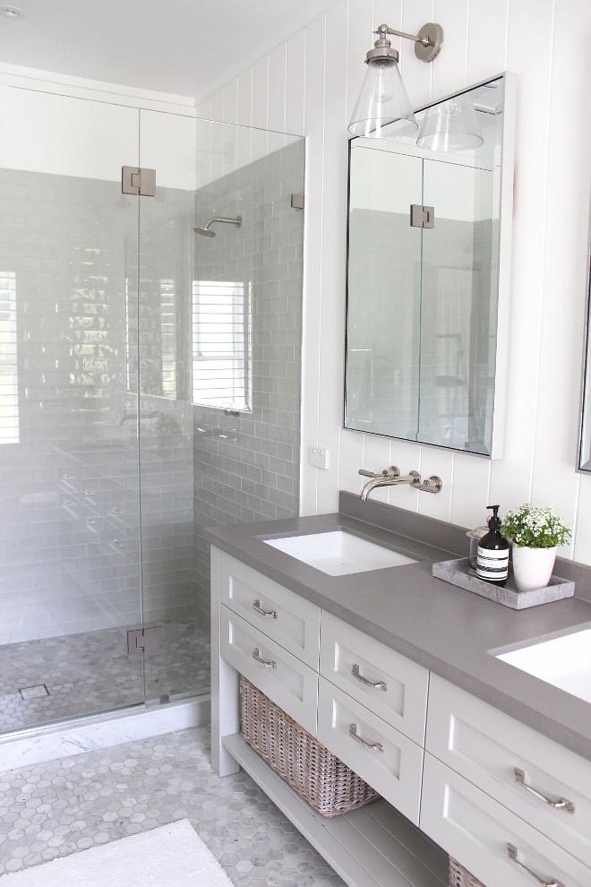 Beautiful Homes of Instagram @urban_farmhouse_build - Home ... on Farmhouse Bathroom Floor Tile  id=71511