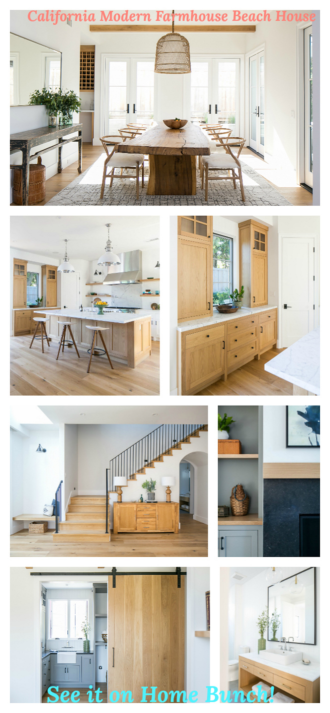 California Modern Farmhouse Beach House House Tour