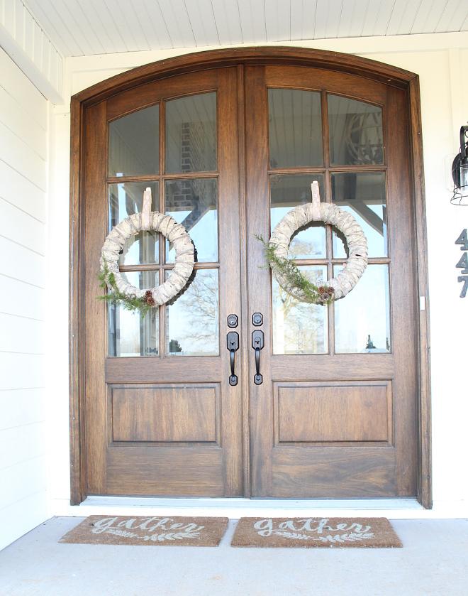Double Door Wreath Ideas