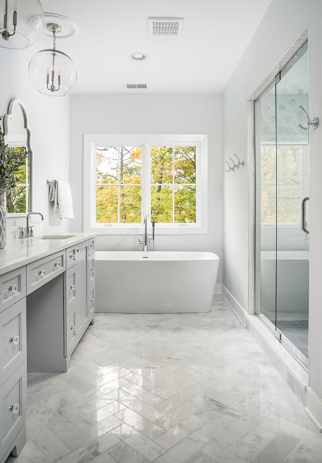 Herringbone Marble Floor Tile Bathroom Marble Floor Tile Asian Statuary 4x12 Polished Tile