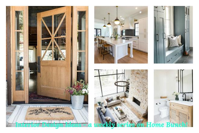 Interior Design ideas Interior Design ideas a weekly series on Home Bunch #InteriorDesignideas