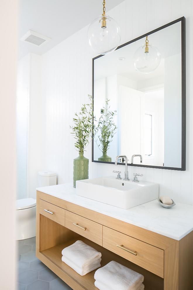 California Modern Farmhouse Beach House - Home Bunch ... on Bathroom Ideas Modern Farmhouse  id=66564