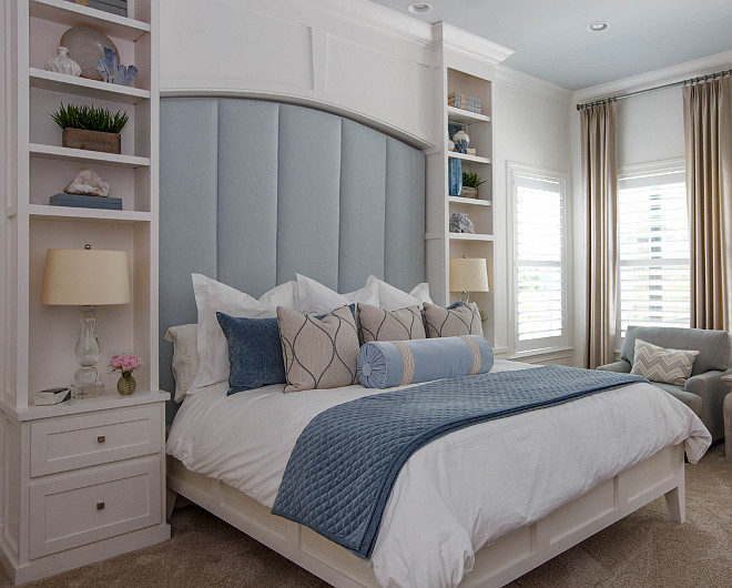 Bedroom Bookcase Builtin Bed Bedroom Built-in Bedroom Bookcase Builtin Bed Bedroom Built-in Ideas The master bedroom features custom bookshelves beautifully flanking the bed