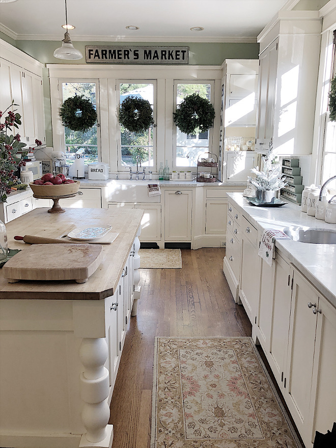 Category: Christmas Decorating Ideas - Home Bunch Interior ... on Rustic Farmhouse Kitchen  id=31200