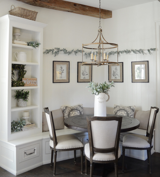 Wall paint color Swiss Coffee by Benjamin Moore