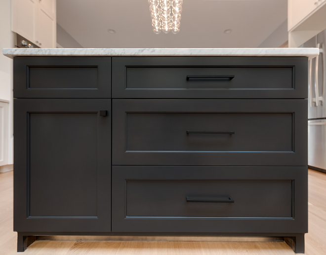 Black Fox SW 7020 by Sherwin-Williams Cabinet Color