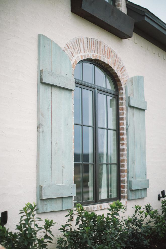 Annie Sloan Duck Egg Blue Window Shutters Annie Sloan Duck Egg Blue Shutters shutters are rough cedar painted in Annie Sloan Duck Egg Blue