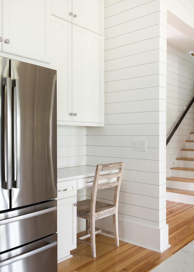 Kitchen Built-in Desk by fridge Built-in Desk in kitchen Kitchen Built-in Desk