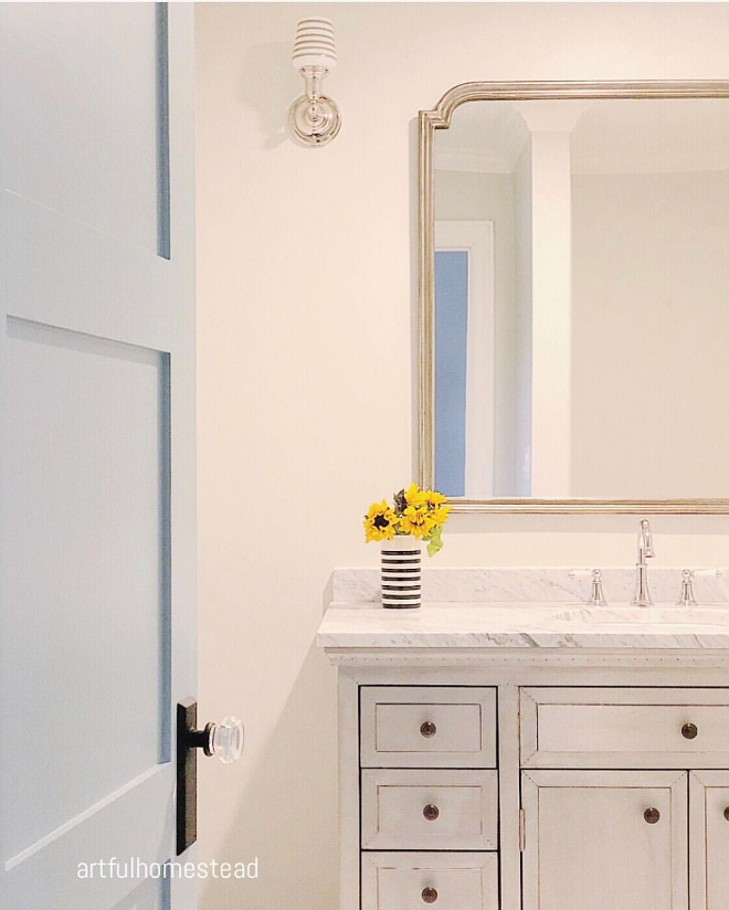 Neutral Powder Room Neutral Powder Room Neutral Powder Room #NeutralPowderRoom #PowderRoom