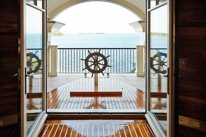 Ship Boat Inspired Coastal Interiors