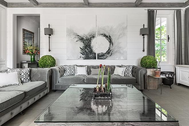 Art above sofa ideas