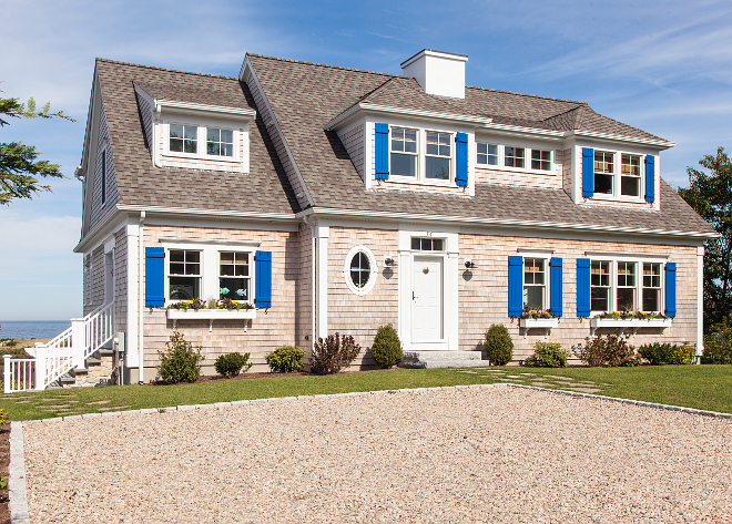Cape Cod Shingle Cottage roof Roof Shingles Architectural Style Landmark/ Woodscape Shingles by CertainTeed color Weathered Wood