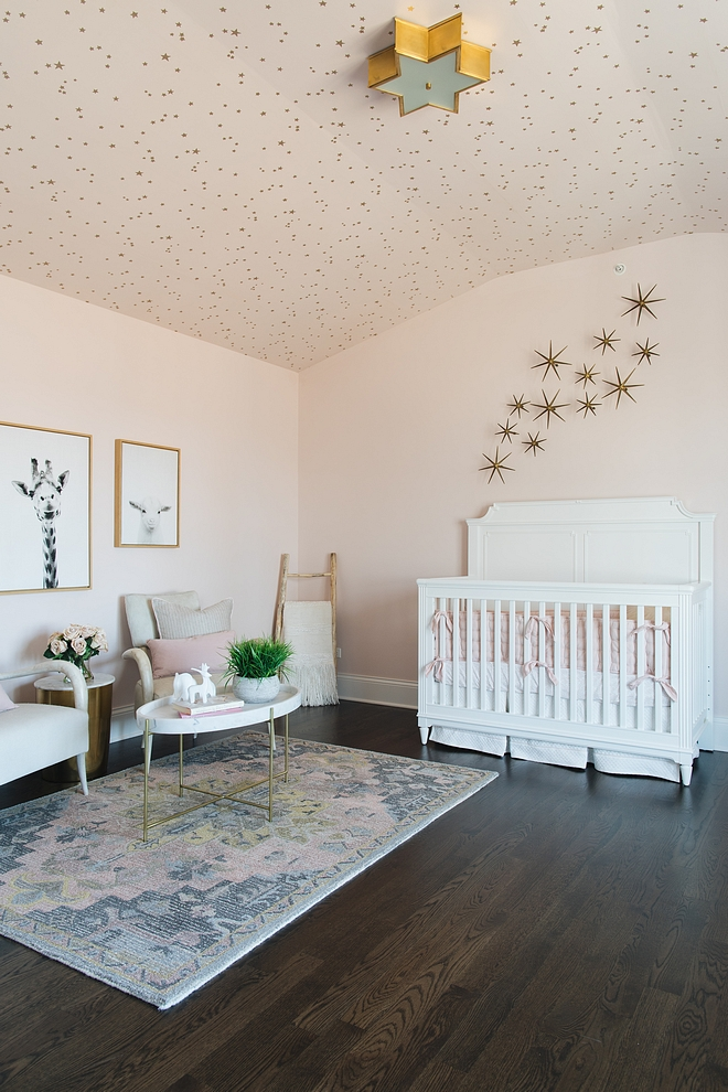 Ceiling Wallpaper on all 3 walls of ceiling Cole and Sons Stars Ceiling Wallpaper on all 3 walls of ceiling Cole and Sons Stars Nursery ceiling wallpaper