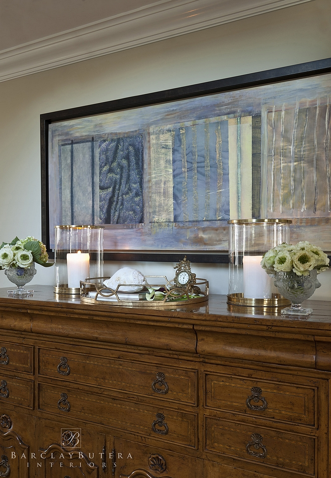 Traditional Foyer Decor Ideas Traditional Foyer Decor with console table and hurricanes by Ralph Lauren