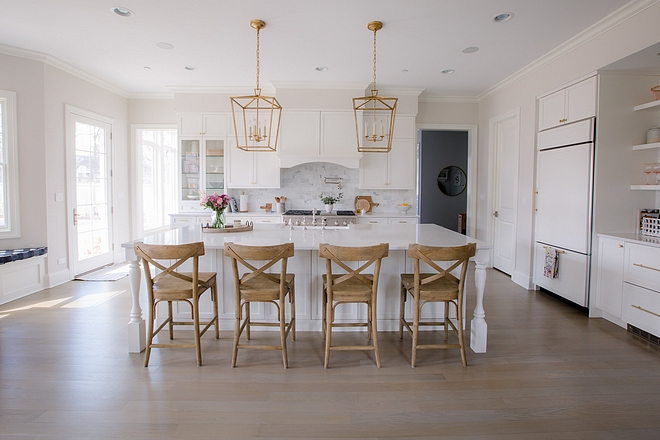 Best kitchen wall paint color Benjamin Moore Classic Gray Keep this wall color in mind Benjamin Moore Classic Gray
