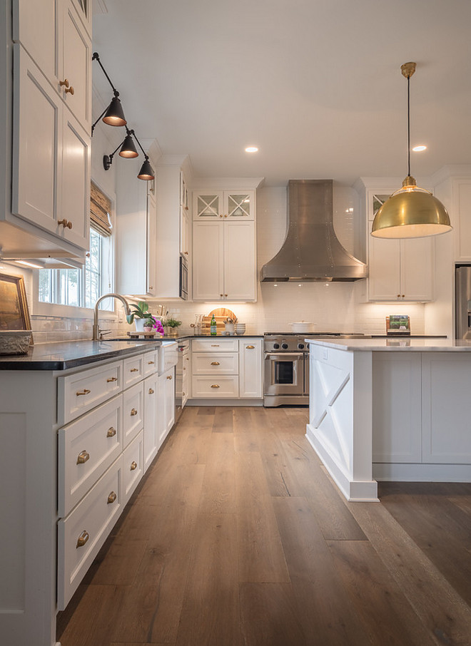 Kitchen White Oak Hardwood Floor Best type of Hardwood Floor for kitchens White Oak Hardwood floor on kitchens hardwood floor source on Home Bunch