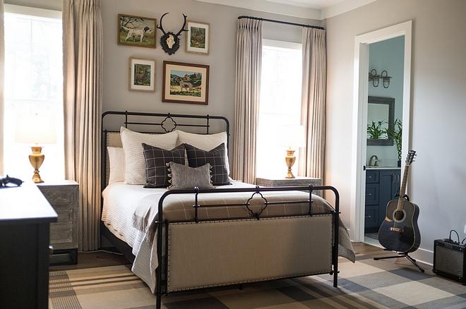 Grey Farmhouse Bedroom Grey Farmhouse Bedroom Grey Farmhouse Bedroom #GreyFarmhouseBedroom #FarmhouseBedroom