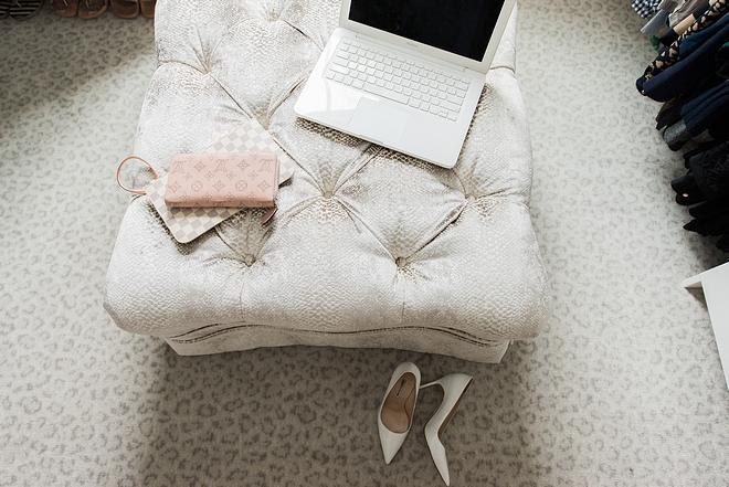 Walk in closet carpet flooring ideas