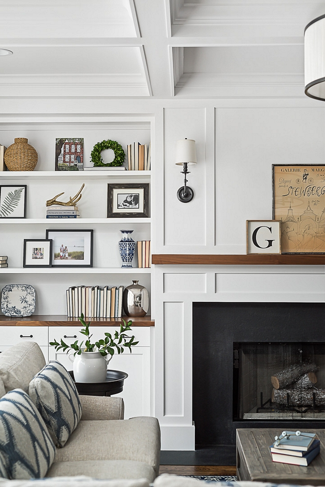 The fireplace features leathered black granite surround leathered black granite surround fireplace ideas leathered black granite surround #leatheredblackgranite #fireplace #blackgranite