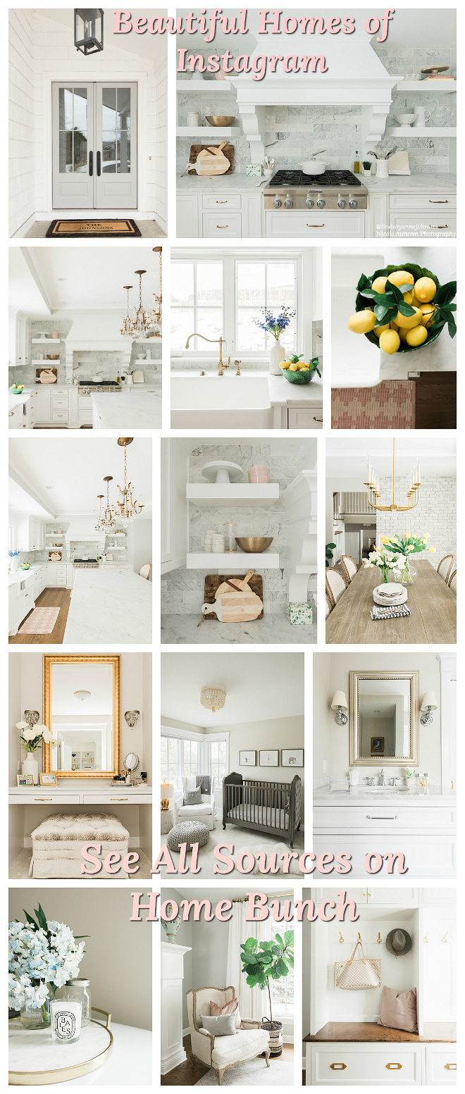 1Beautiful Homes of Instagram @lindsayannejohnson