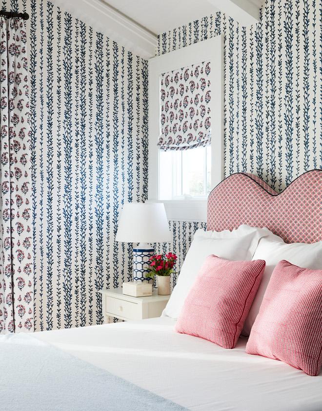 Bedroom Wallpaper Clay McLaurein Studio's Weeping Willow in Midnigh