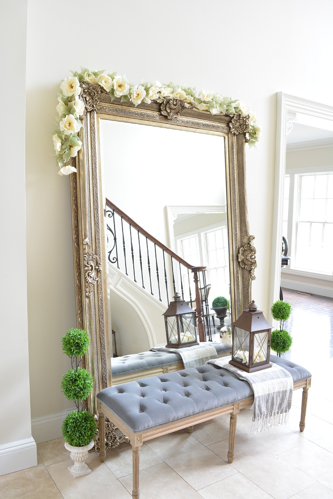 Foyer Mirror Large Foyer Mirror Foyer floor mirror Foyer floor mirror #Foyermirro #floormirror