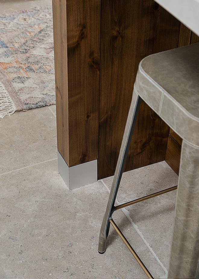 "Kitchen Flooring Paris Ceramics Limestone tile 24"" square Limestone Kitchen Flooring Kitchen Flooring #limestone #Kitchen #Flooring"