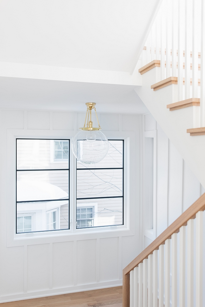 Sherwin Williams Extra White SW 7006 Interior Board and Batten Paint Color Sherwin Williams Extra White SW 7006 #SherwinWilliamsExtraWhiteSW7006 #SherwinWilliamsExtraWhite #SherwinWilliams #Boardandbatten