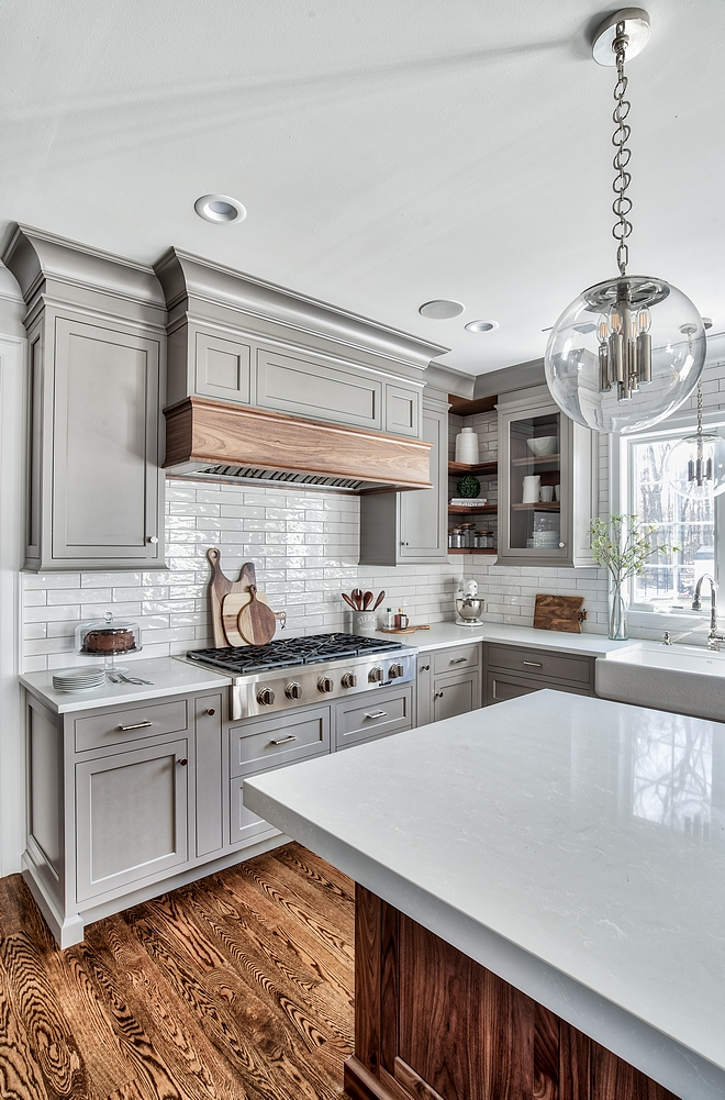 Kitchen cabinet trim Kitchen cabinet trim design The perimeter cabinets are Painted Hard Maple Kitchen cabinet trim ideas #Kitchencabinettrim #cabinettrim