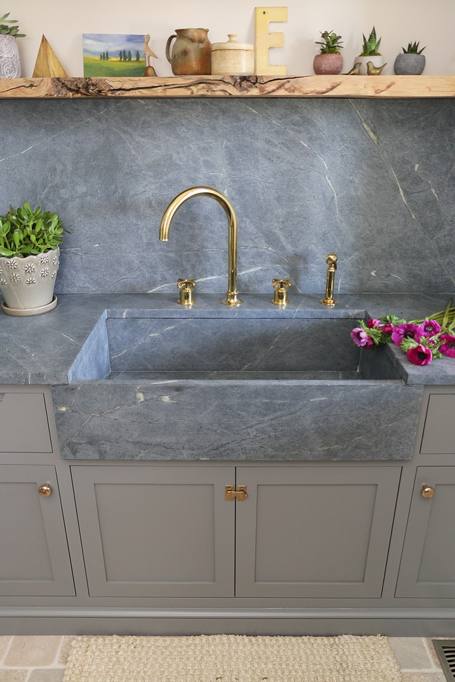 Soapstone Farmhouse Sink Custom Soapstone Farmhouse Sink Soapstone Farmhouse Sink Soapstone Farmhouse Sink #SoapstoneFarmhouseSink #Soapstone #FarmhouseSink