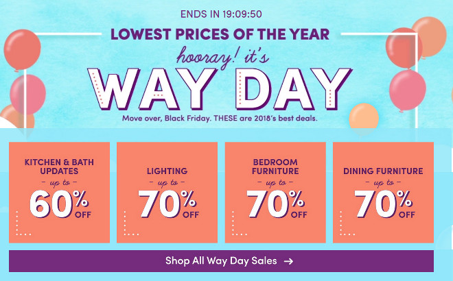 wayfair Best Sales