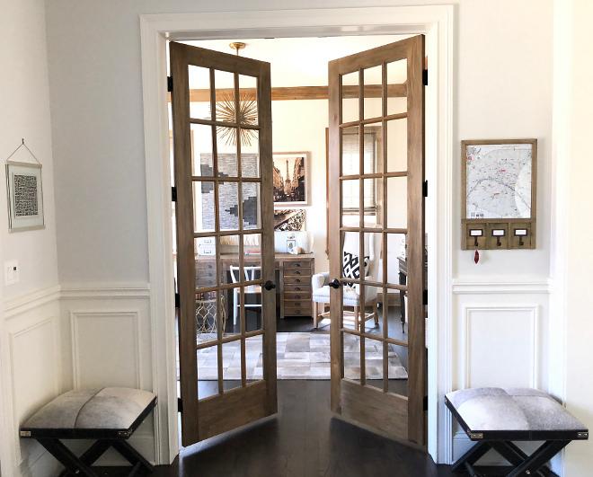White Oak French Doors Home Office White Oak French Doors Home Office with White Oak French Doors #WhiteOakFrenchDoors