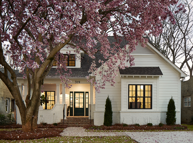 Small Modern Farmhouse With Front Porch Home Bunch