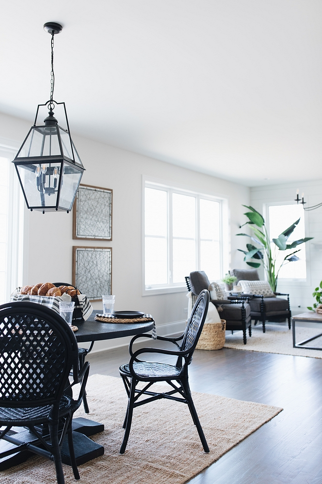 Classic Gray by Benjamin Moore Popular main floor paint color works great with light or dark hardwood flooring Classic Gray by Benjamin Moore Classic Gray by Benjamin Moore #ClassicGraybyBenjaminMoore