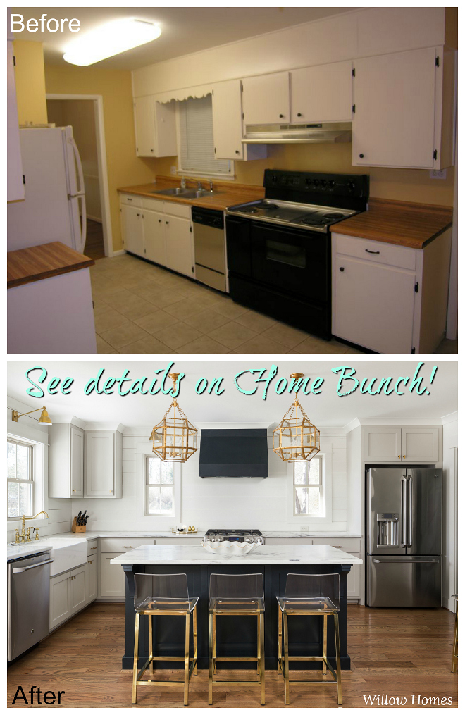 Before Amp After Small Farmhouse Style Home Renovation
