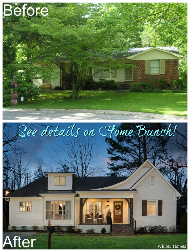 Before & After: Small Farmhouse-Style Home Renovation