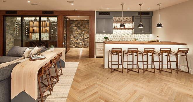 Basement Herringbone Flooring Basement Herringbone Flooring Basement Herringbone Flooring Basement Herringbone Flooring #BasementHerringboneFlooring